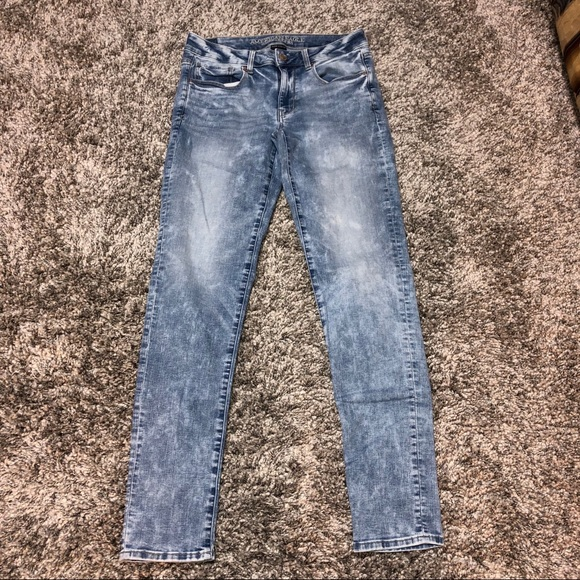 American Eagle Outfitters Denim - American Eagle Skinny Jeans Stretch Acid  6 Long